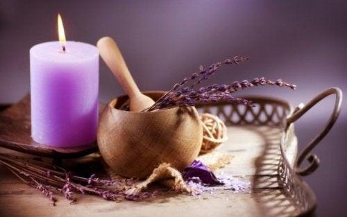 La aromaterapia para sentirse mejor
