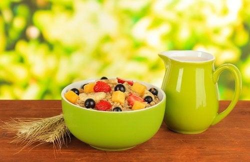 Desayunar bien te ayuda a tener energía durante todo el día