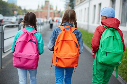 El cuidado de la espalda en los niños