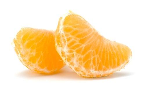 Come mandarina contra las grasas