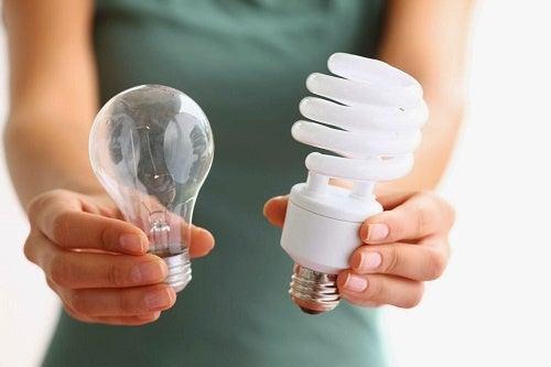 ¿Cuáles son las bombillas más saludables?