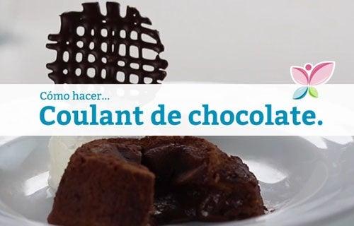 Cómo hacer coulant de chocolate