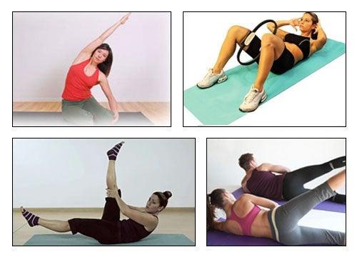 Reduce la cintura, cadera y muslos con 5 ejercicios de pilates