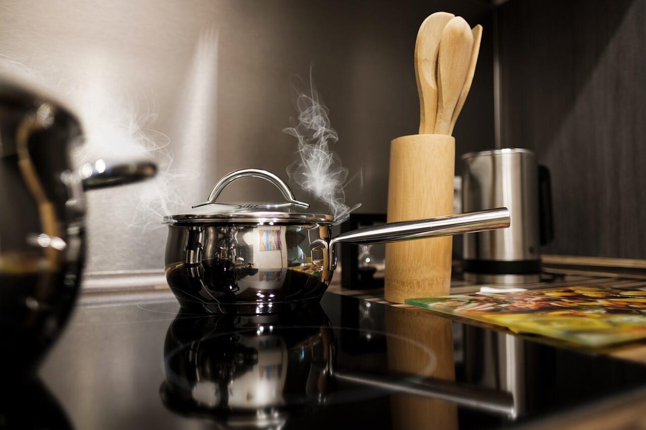 Cocinar en vitrocerámica