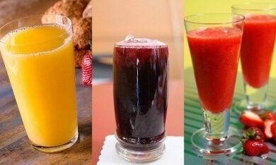 17 Bebidas curativas, depurativas y energizantes ideales para cada día