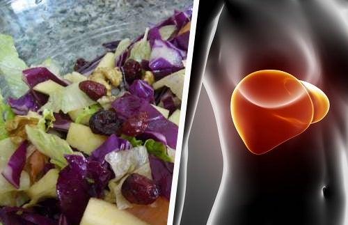 Ensalada revitalizante para el hígado: ¡deliciosa!