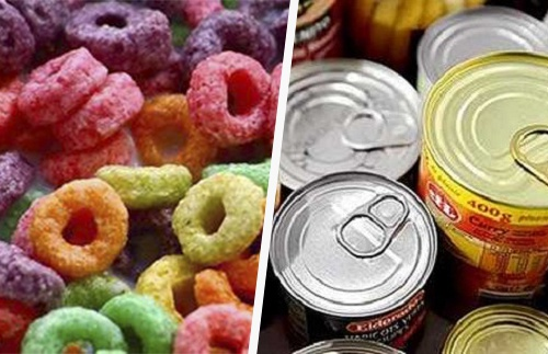 Los 12 tóxicos más temibles en alimentos procesados