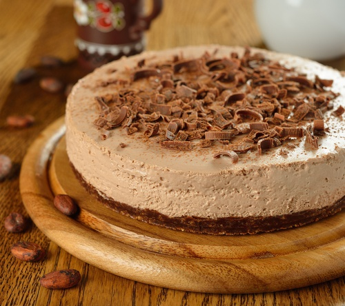 Cheesecake de Nutella sin hornear