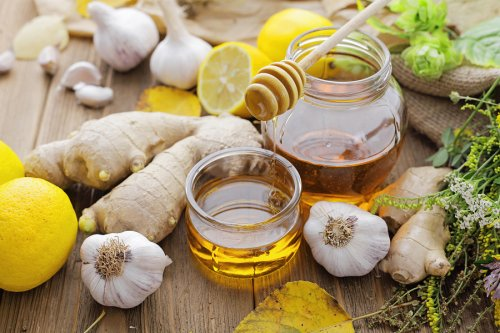 Propiedades de la miel y el jengibre
