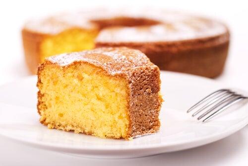 Bizcocho loco o crazy cake