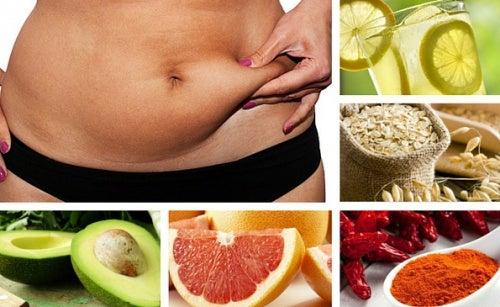 7 alimentos quemagrasa que debes incluir en tu dieta