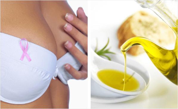 El aceite de oliva puede protegernos frente al cáncer de mama