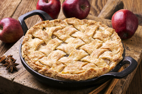 Tartaleta de manzana