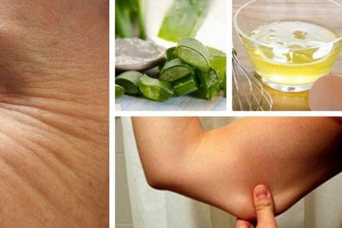 Cómo reafirmar la piel con remedios caseros