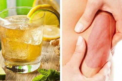 Bebida curativa para combatir la celulitis del cuerpo