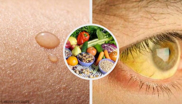10 deficiencias de vitaminas comunes y su solución