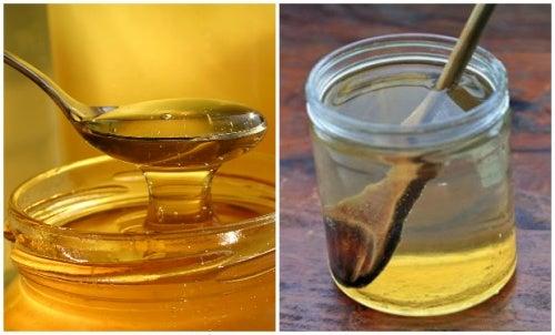 Cómo curar el dolor de garganta con agua tibia y miel