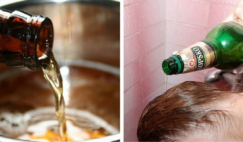 6 usos de la cerveza para tu piel y cabello