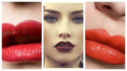 Los labios, 4 formas de pintarlos para seducir