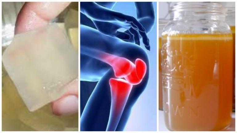 Descubre 3 remedios con gelatina para aliviar los dolores articulares