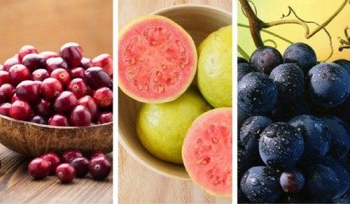 Descubre las 5 frutas con más propiedades antioxidantes