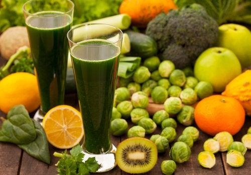 3 dietas depurativas y bajas en grasas