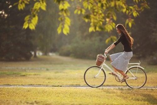 9 razones para andar en bicicleta