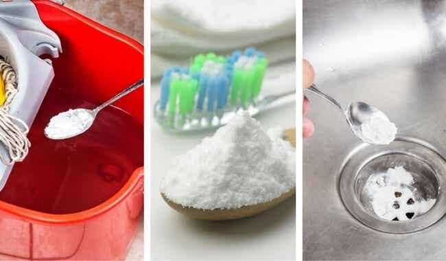 6 usos fantásticos del bicarbonato de sodio