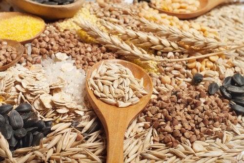 Dieta a base de cereales