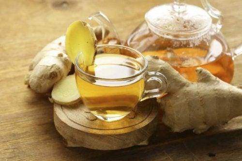 Infusión de jengibre y aloe vera: una bebida natural muy poderosa