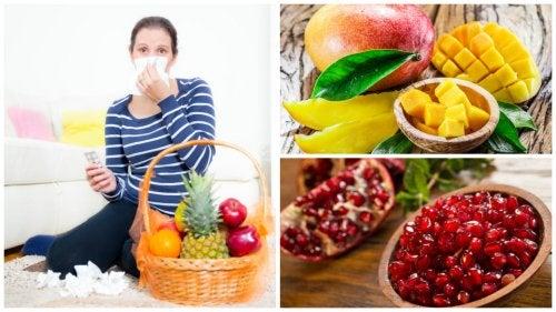 Las 7 mejores frutas para hacerle frente a la gripe y los resfriados