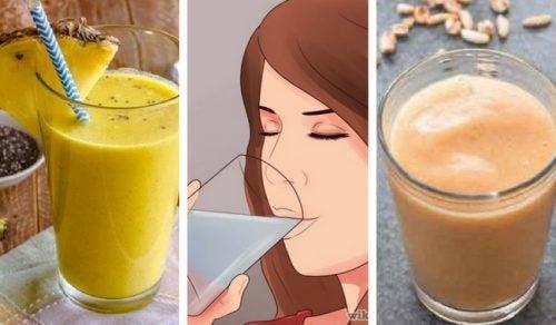 5 deliciosos batidos ricos en proteína vegetal y fibra