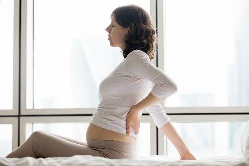 El agotamiento físico en el embarazo