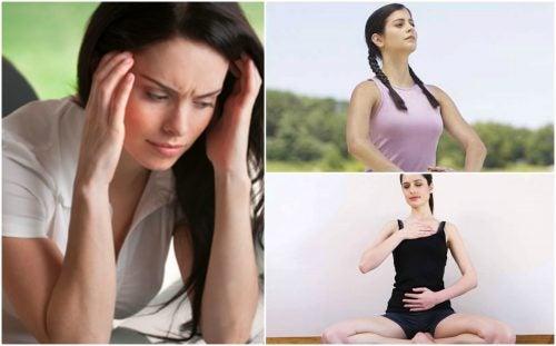 5 ejercicios de respiración que te ayudan a controlar la ansiedad y el estrés