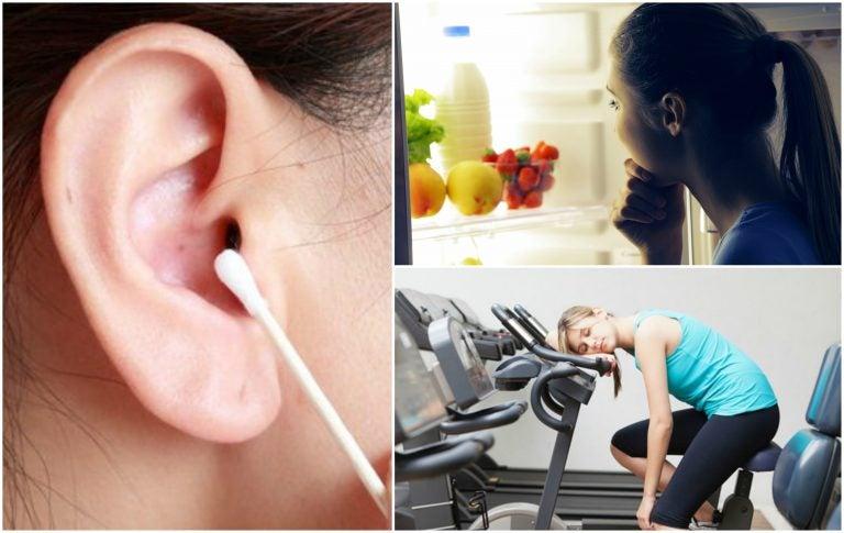 7 hábitos poco saludables