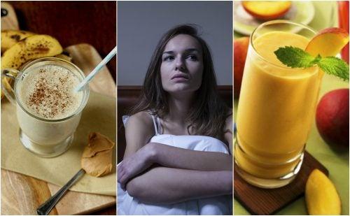 Combate el insomnio de forma natural con estos 5 deliciosos batidos