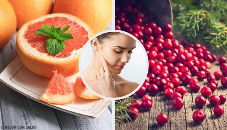 5 alimentos excelentes para tu piel