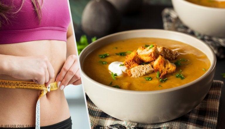 Descubre la dieta de la sopa quemagrasa