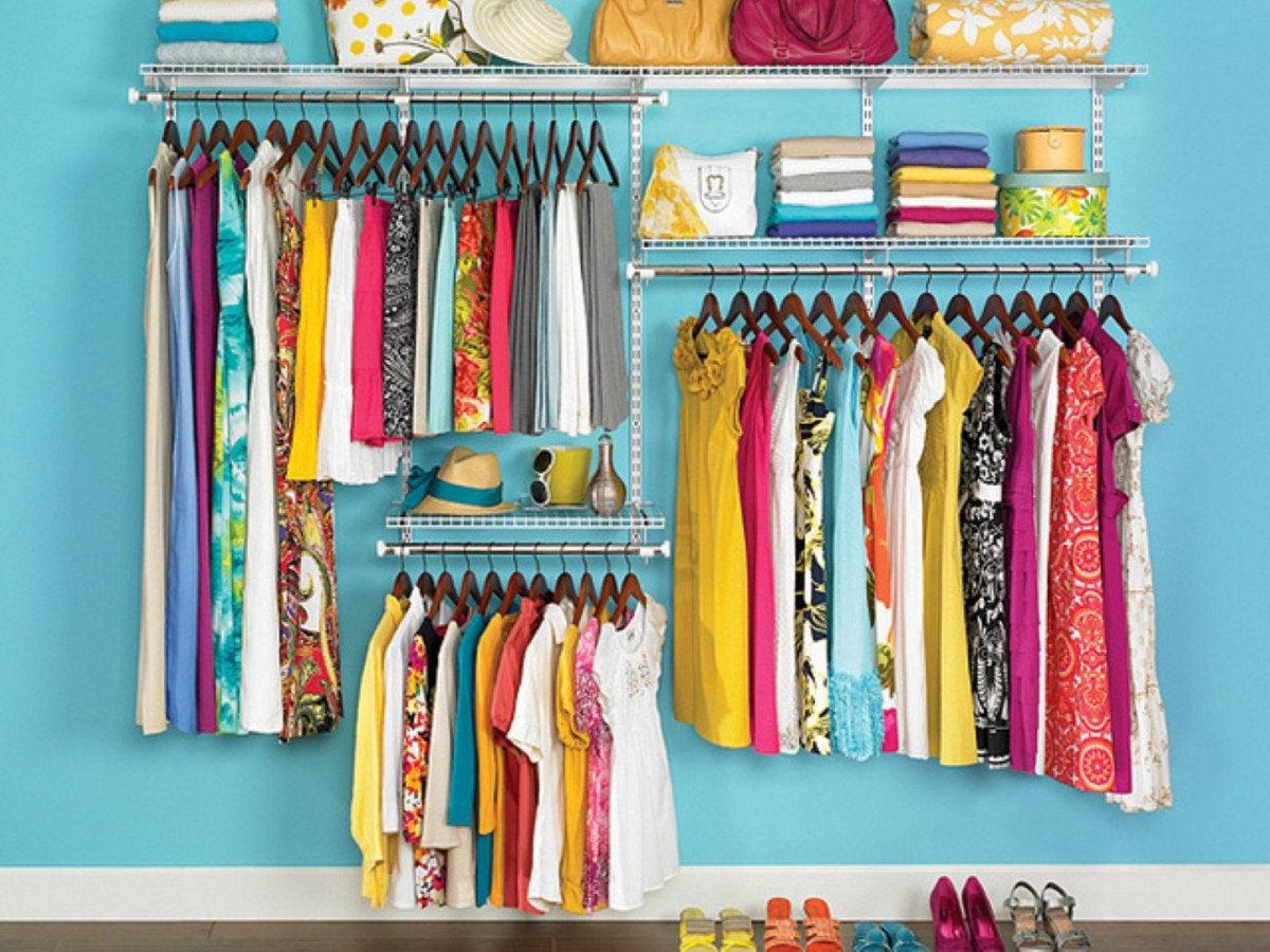 mantener limpio el hogar: organizar la ropa