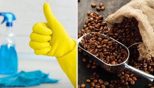 14 usos alternativos del café en tu hogar