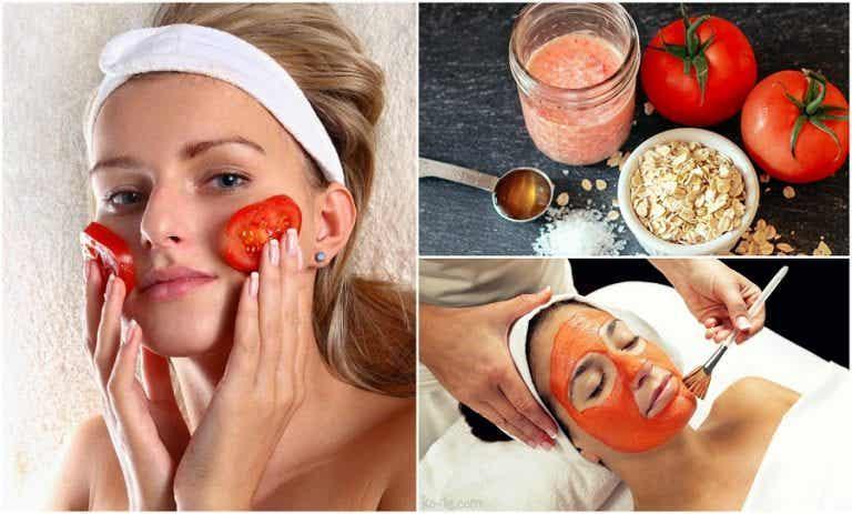 5 usos cosméticos que le puedes dar al tomate
