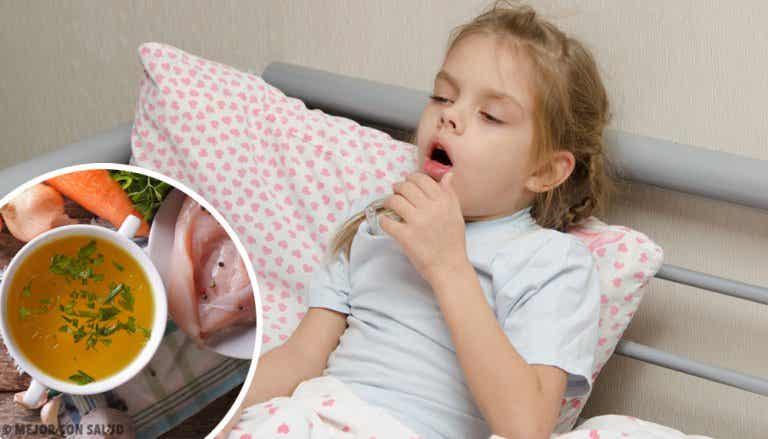 Cómo curar la tos seca en niños