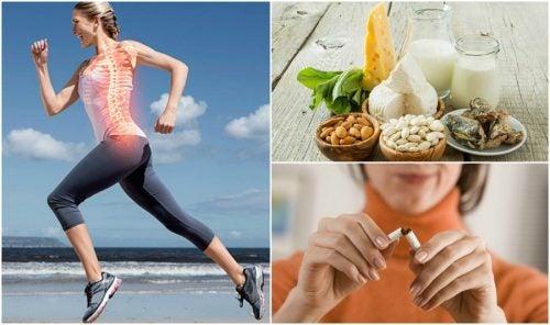 7 hábitos que te ayudan a prevenir la osteoporosis