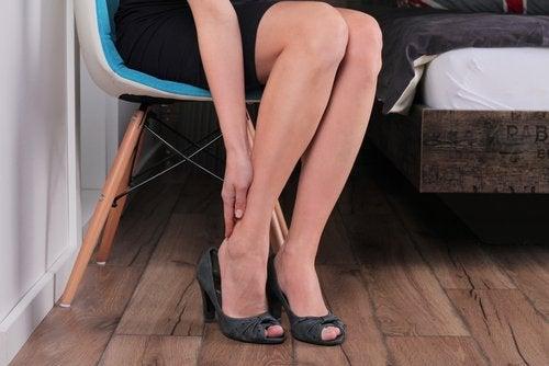 Remedios caseros para piernas cansadas