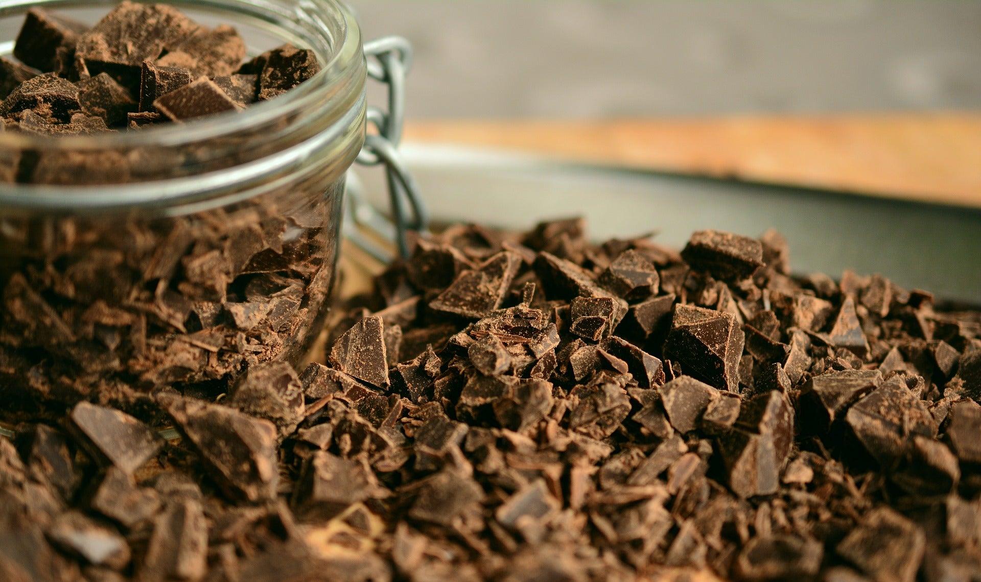 Chispas de chocolate para el pan dulce