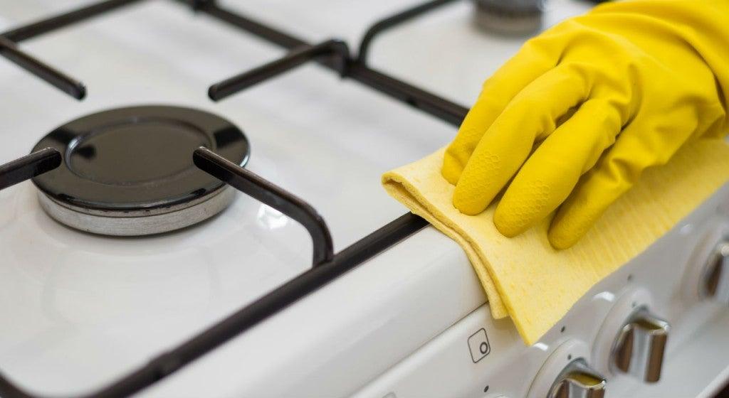 mantener limpio el hogar: limpiar las manchas