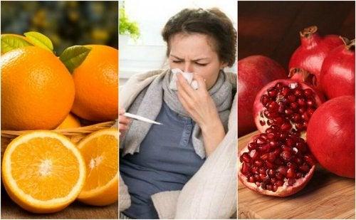 Cómo prevenir la gripe aumentando el consumo de 8 alimentos