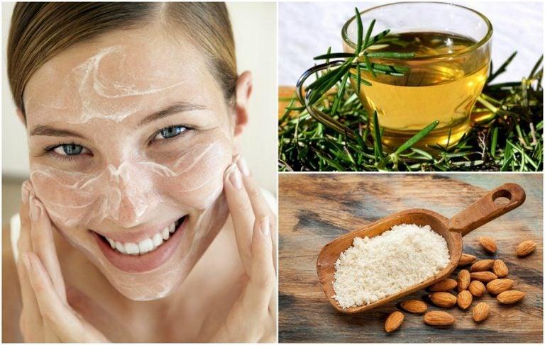 Cómo hacer un limpiador facial de romero y almendras para suavizar tu piel