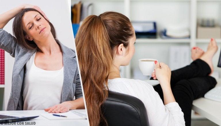 Ejercicios ideales para personas con trabajos sedentarios