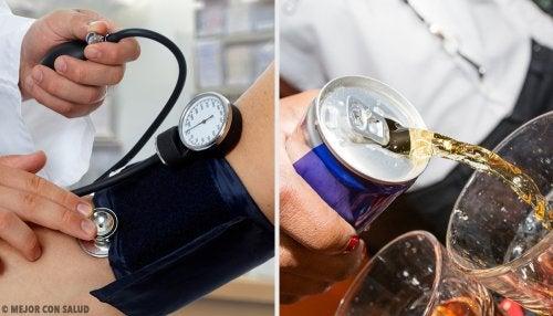 Las bebidas que más incrementan la tensión arterial